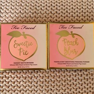 TooFaced bronzer and blush